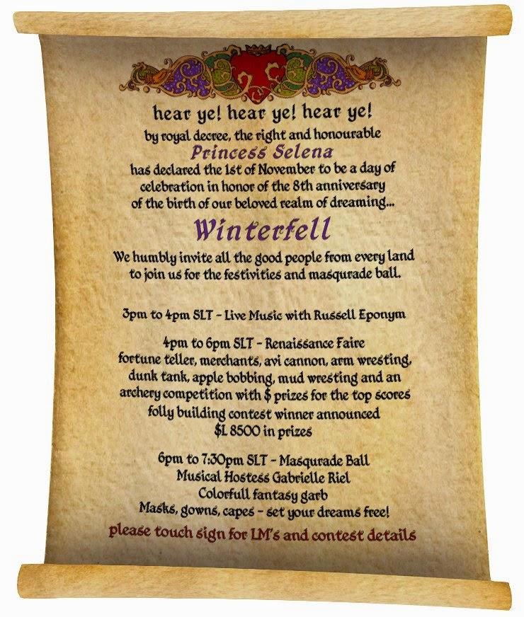 Winterfell 8th invite